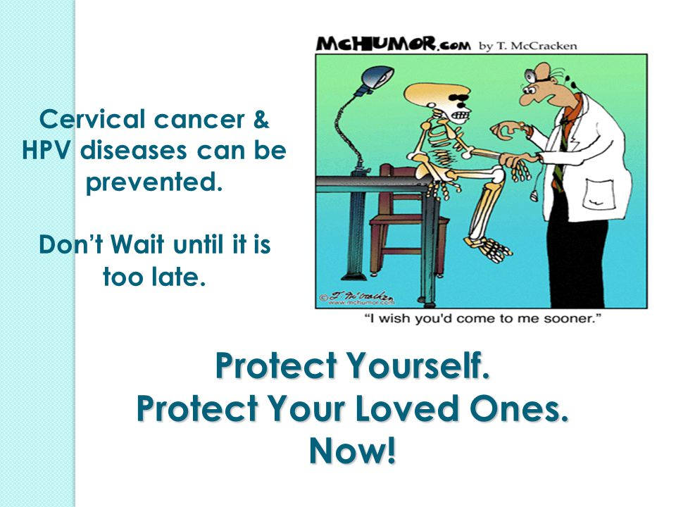 Protect Yourself. Protect Your Loved Ones. Now!