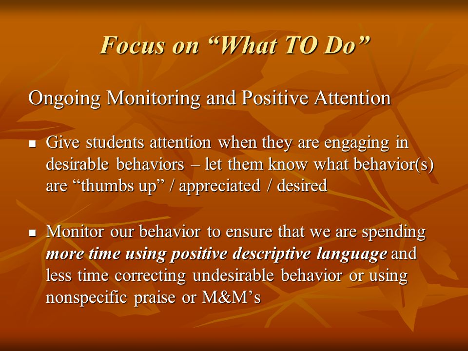desirable and undesirable behaviors Punishment, like reinforcement, is a term used in behavioral analysis and in a specific kind of intentional behavior change known as operant conditioning whereas reinforcement is used to increase desirable behavior, punishment is used to decrease undesirable behavior through the application of a negative consequence.
