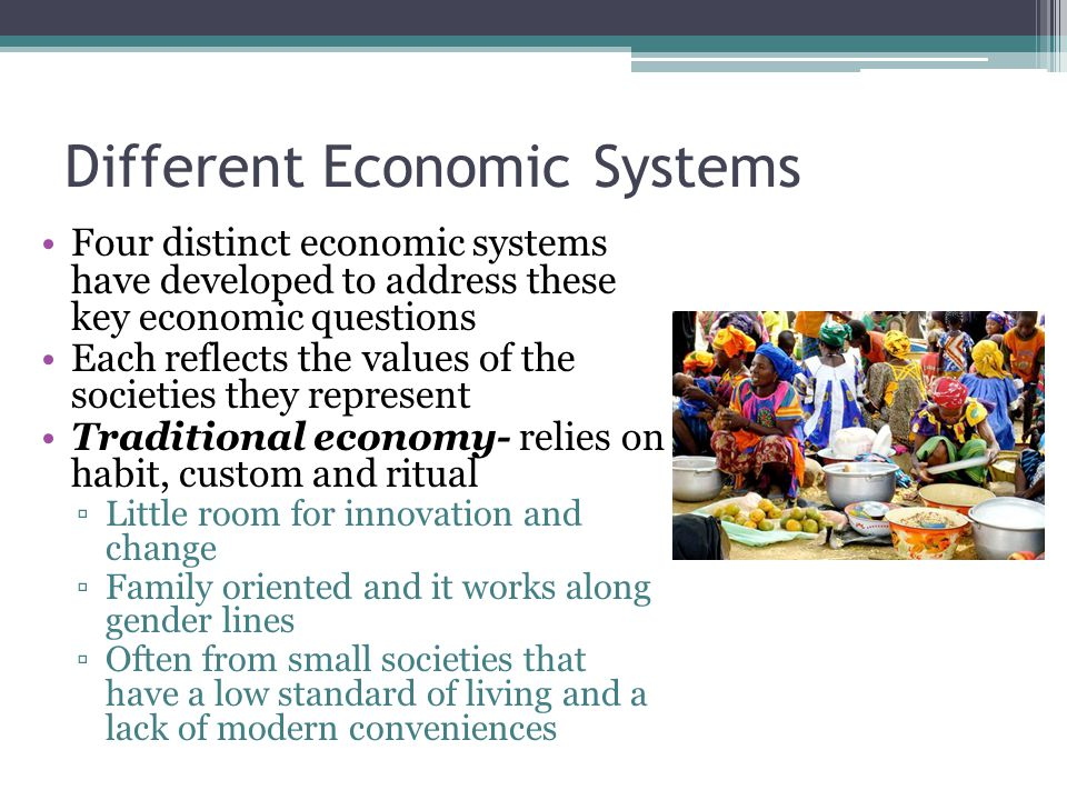 different economic systems essay Get access to economic systems essays only from anti essays in the world of economics, there are a handful of different types of economic systems available.