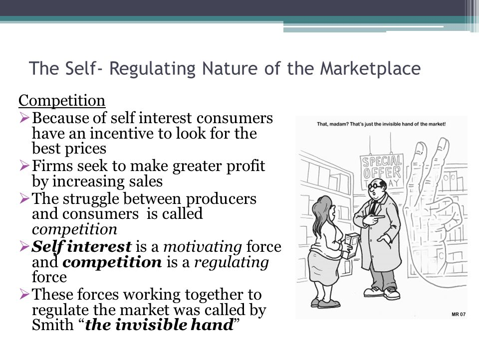 self regulating economy The last entry in the blog war over regulation of the financial sector: why self-regulation diminish when the economy self-regulation.