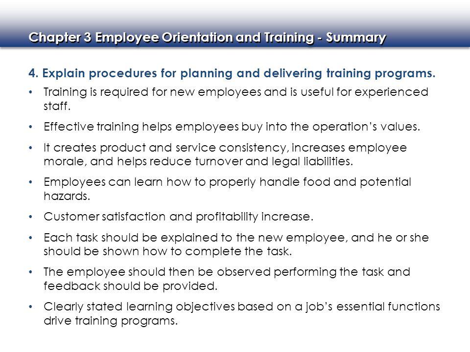 explaining employee orientation Orientation of new employees employee name: (pull & explain) ____ child care health unit date of orientation.