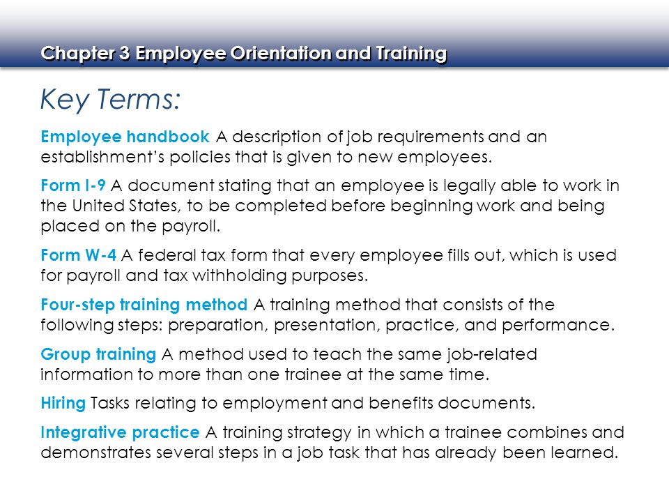 Employee Orientation And Training  Ppt Video Online Download