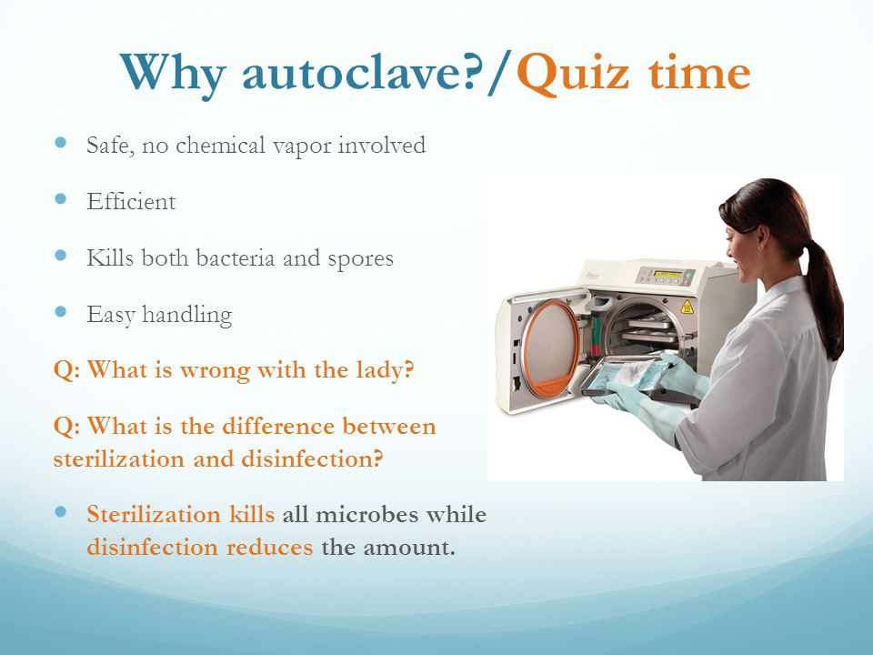 Sterilization And Proper Use Of Autoclaves Ppt Video