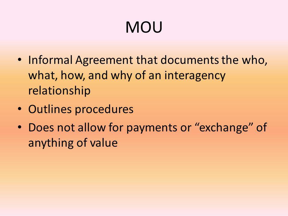 exchange agreements