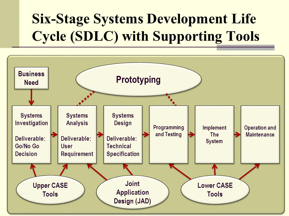 System analysis and design life cycle essay