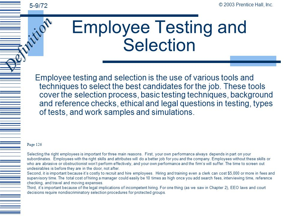 employee selection a vital aspect of Whatever our priorities, work feeds into many different aspects of our lives – it  influences our  he split employees into two groups: one group was placed in a  job using the usual  culture fit: vital for the hiring process.