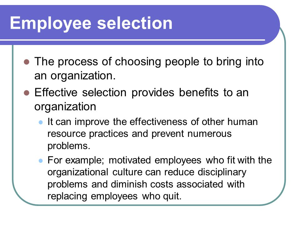 how to bring new people to an organization