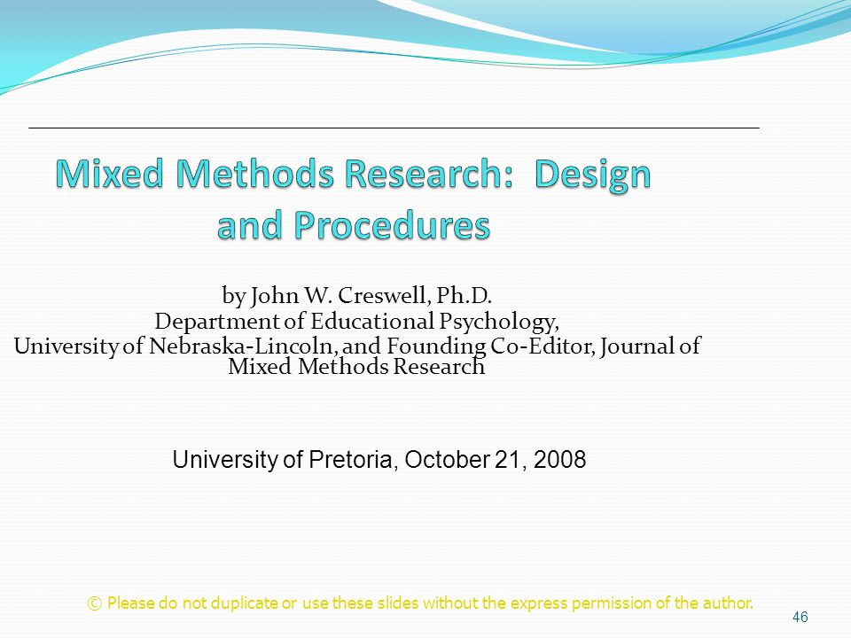 mixed methods design creswell 2008