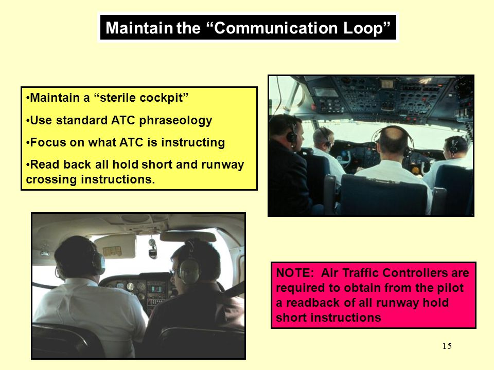 Maintain the Communication Loop