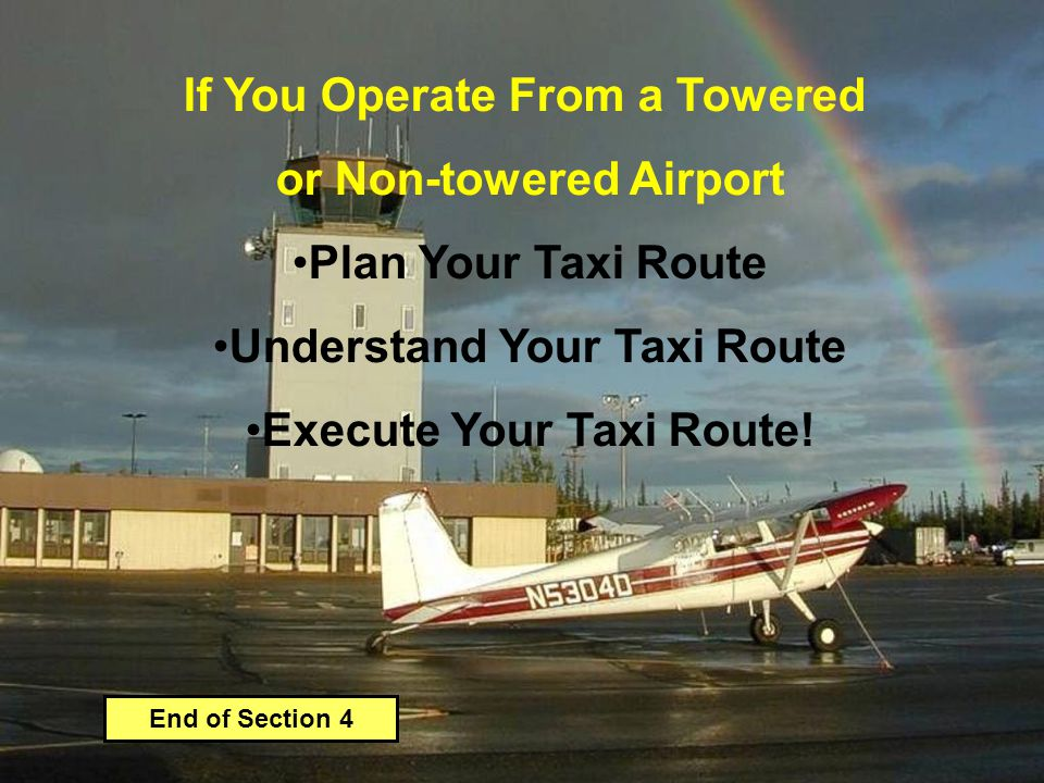 If You Operate From a Towered or Non-towered Airport