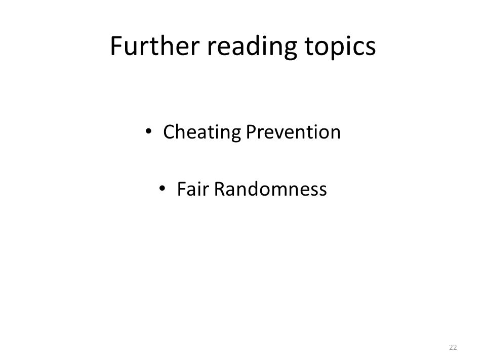 cheating prevention in multiplayer online games Examples of real-world multiplayer online games illustrate the theory  local perception filters and cheating prevention 51 ready-to-use algorithms and 178.