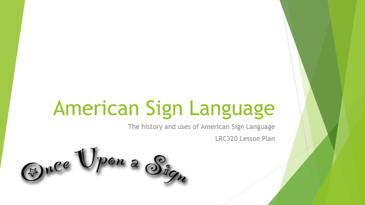 history of american sign language pdf