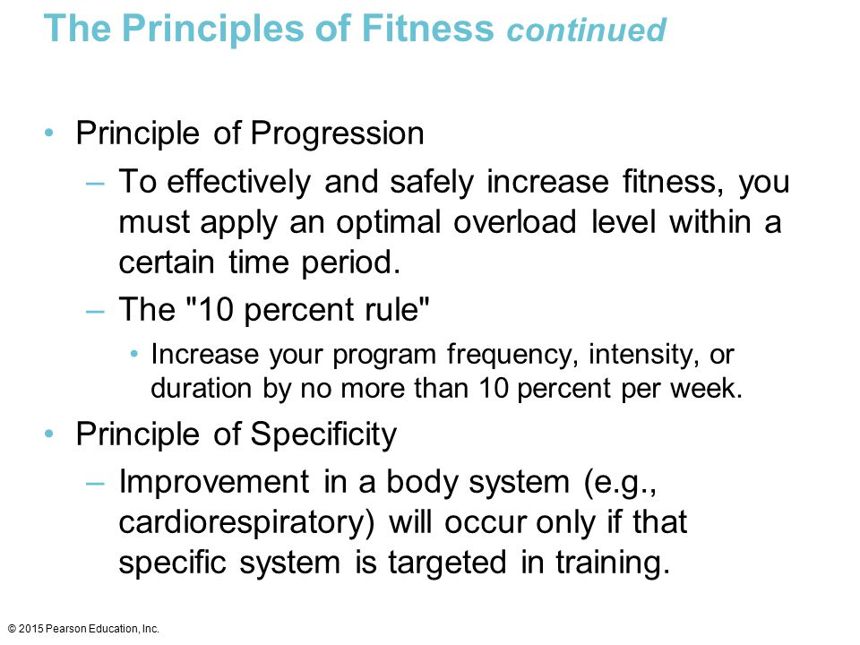 Understanding Fitness Principles Ppt Video Online Download