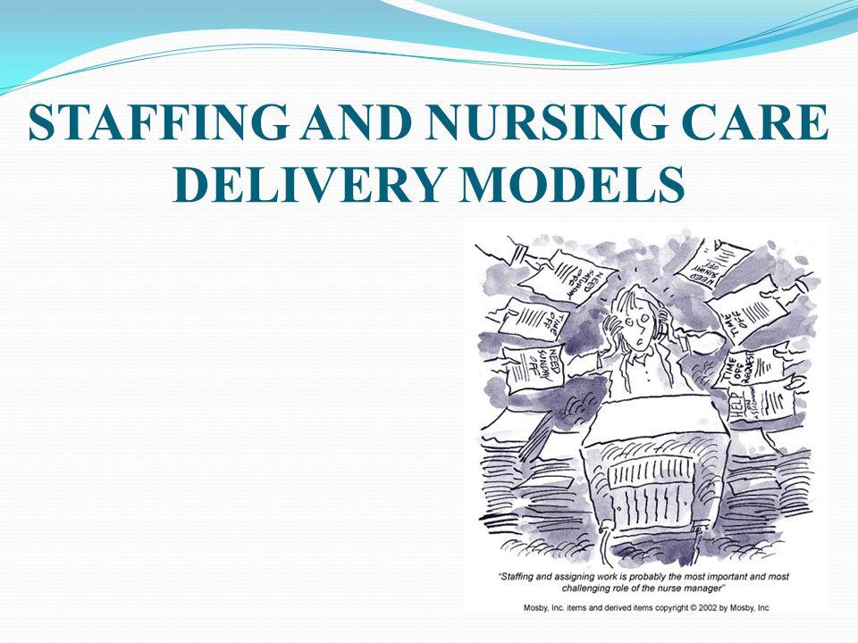 Home healthcare staffing models for nursing