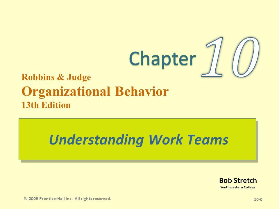 organizational behavior robbins and judge
