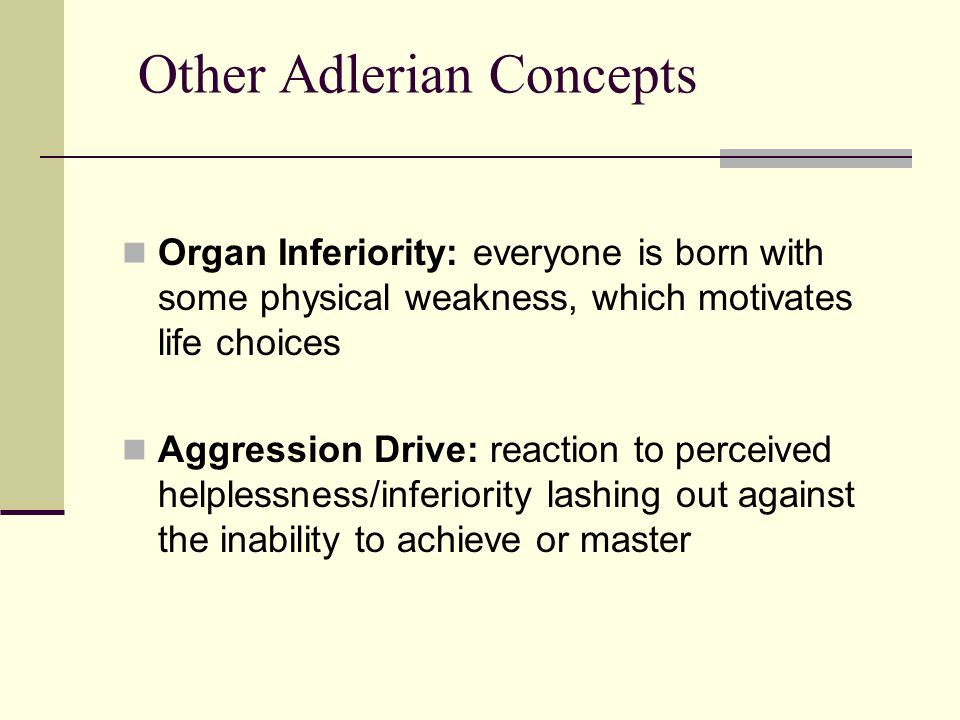 what are the weakness of adlerian Adler coaches learn a wide variety of practical coaching techniques based in ideas drawn from adlerian theory,.