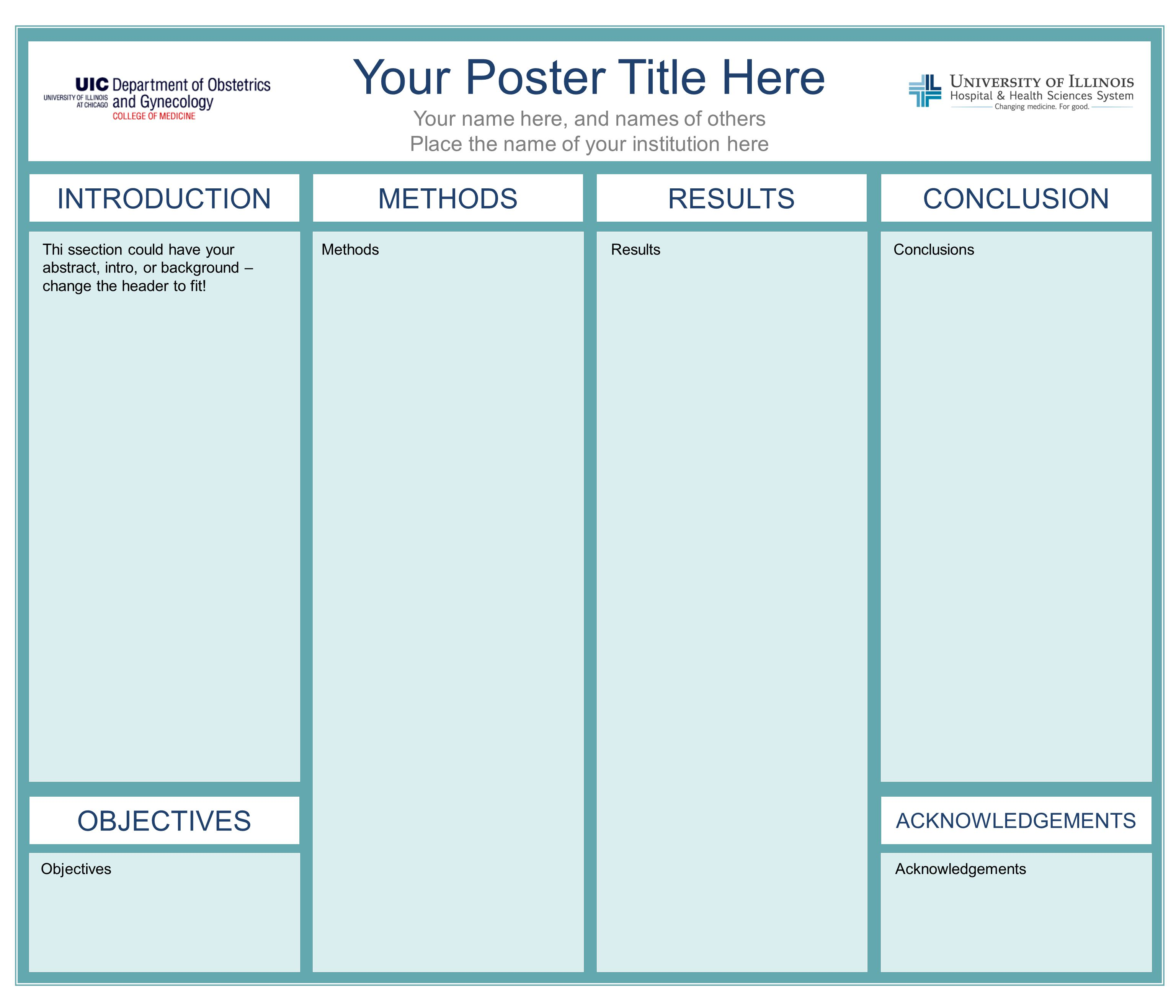 Chart powerpoint template cpadreams info tri fold poster for Powerpoint poster template 90 x 120
