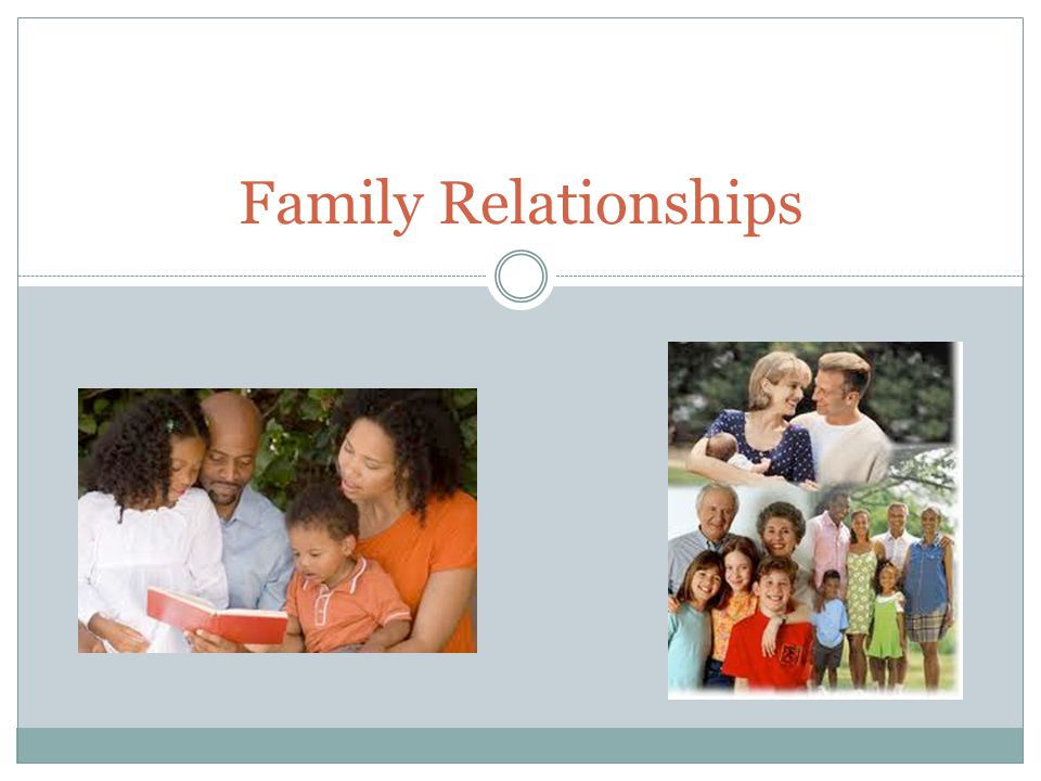 the internet and family relationships Start studying family relationships test 1 learn vocabulary, terms, and more with flashcards, games, and other study tools.
