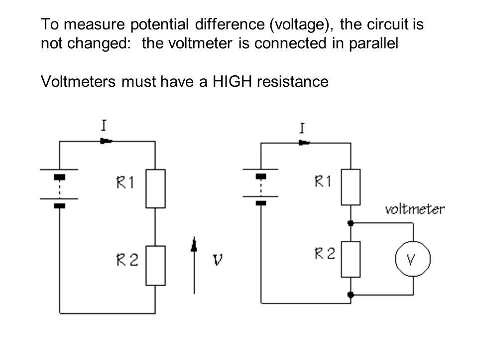 Voltmeter In Parallel : Oscilloscope tutorial ppt video online download