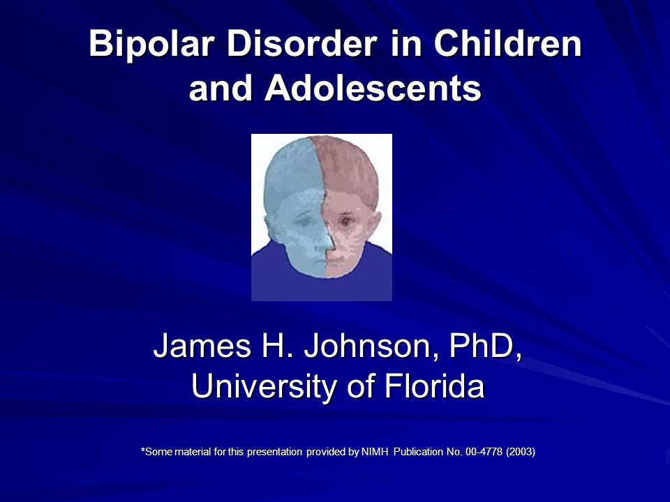 an introduction to the bipolar disorder Psychiatry is a medical discipline seeking to understand and treat mental illness  these podcasts provide an introduction to core topics in.