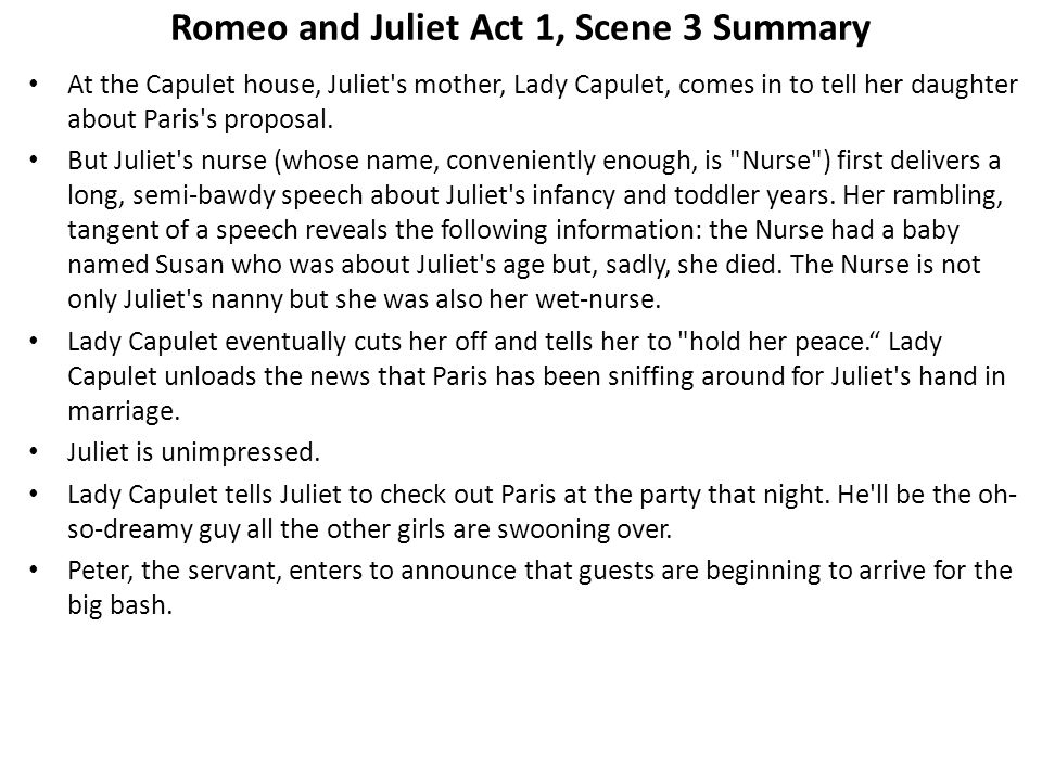 Romeo and Juliet: Symbols at Capulets Party Essay Sample