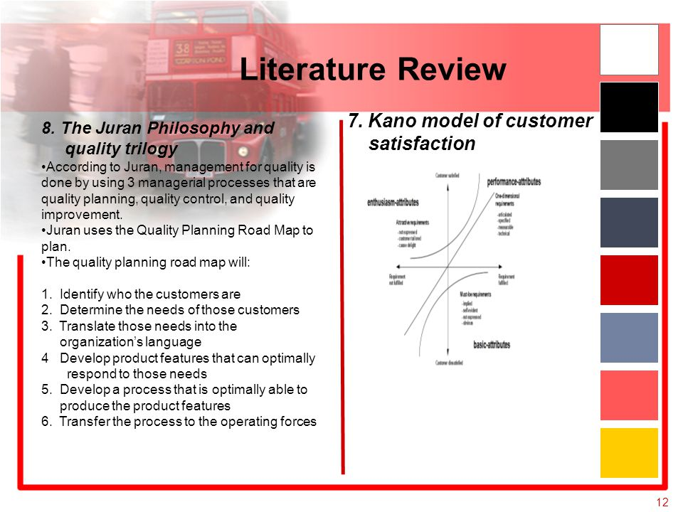 a literature review on customer satisfaction This paper reviews the existing literature on customer satisfaction measurement and provides the theoretical background for the development of a number of tools to help the community.