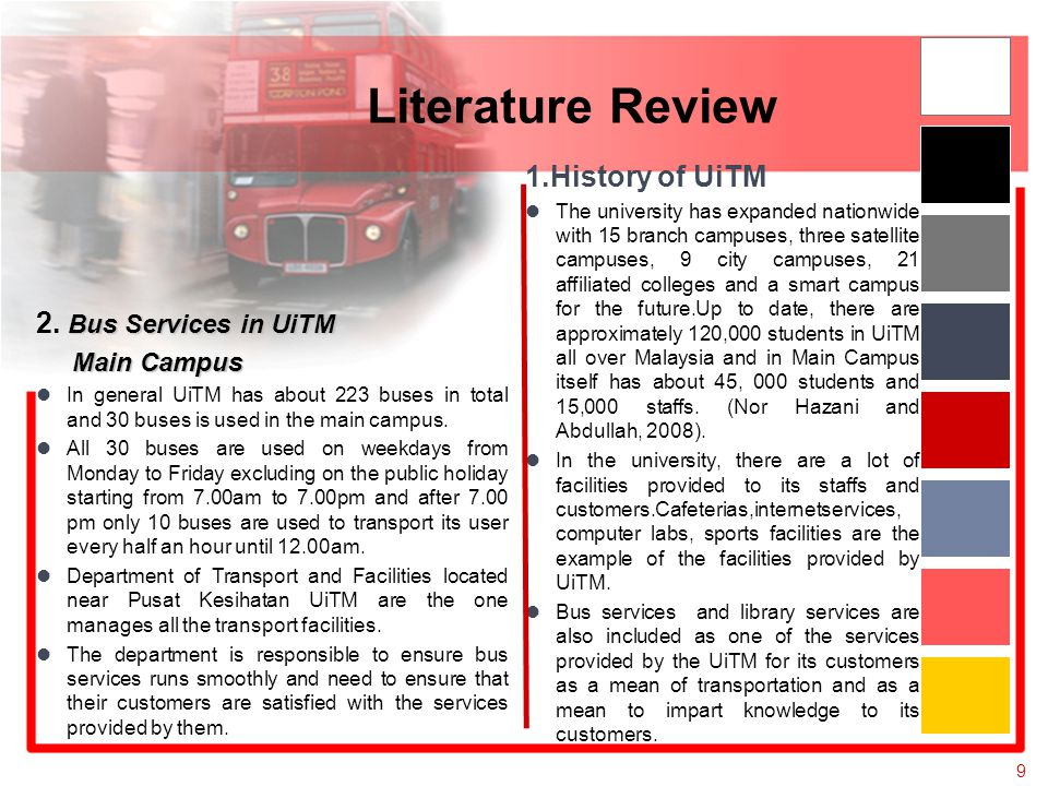 literature review history
