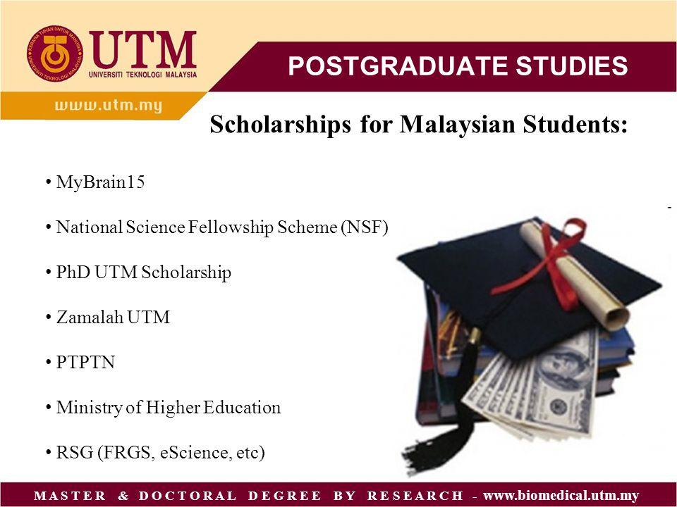 phd coursework in malaysia