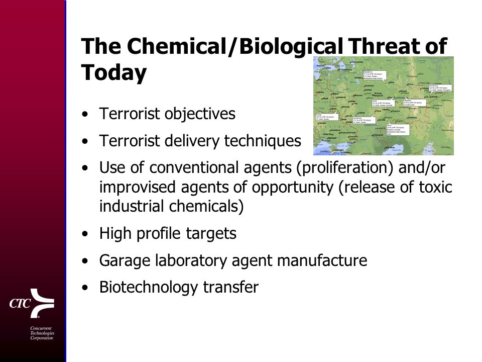 Potential Biological Weapons Threats