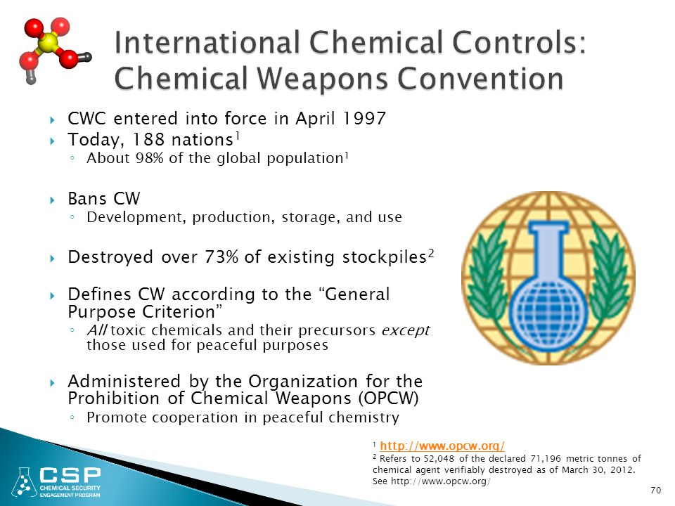 chemical weapons convention Syria sent a letter to the united nations secretary general which said that assad signed a legislative decree providing the accession of syria to the chemical weapons convention.