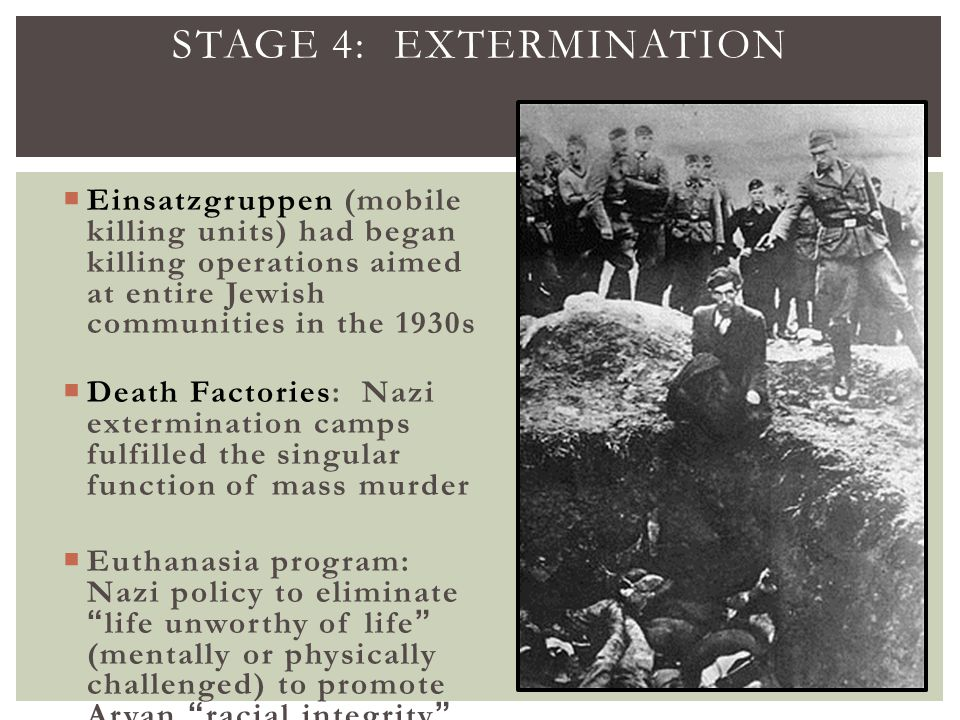 an analysis of systematic oppression and mass murder of jews by the nazis To intervene in the persecution and murder of jews and analysis of the logic and the systematic mass murder of jews, nazis used.