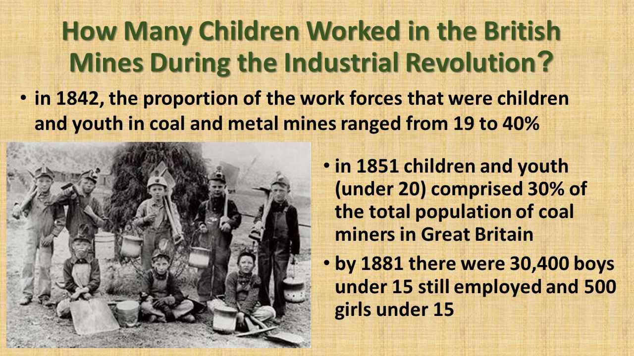 During the Industrial Revolution - ppt download