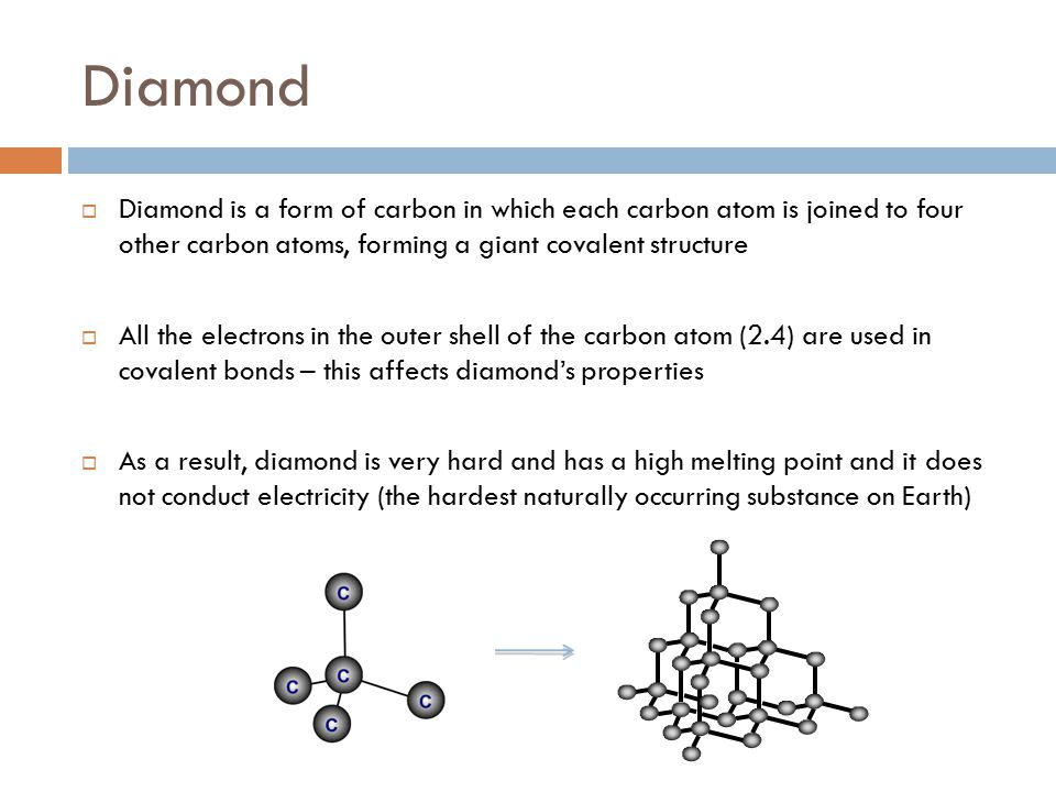 GIANT COVALENT COMPOUND PROPERTIES - ppt video online download