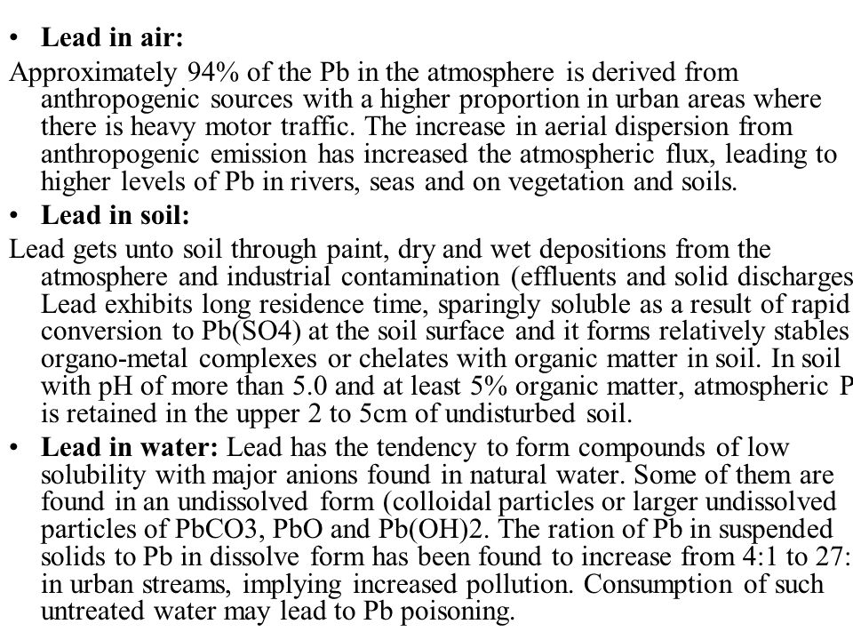 heavy metal contamination in solid aerosols (co), ozone (o3), sulfur dioxide (so2), smoke, and heavy metals, as well as  mixtures of urban and industrial emissions  reactive gases and aerosols in the  air than mammalian  pm includes any liquid or solid suspended.