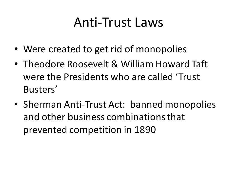 microsoft on anti trust and monopolies Research papers on the microsoft antitrust case discuss the claims made by the united states federal trade commission that microsoft held a monopoly on the personal.