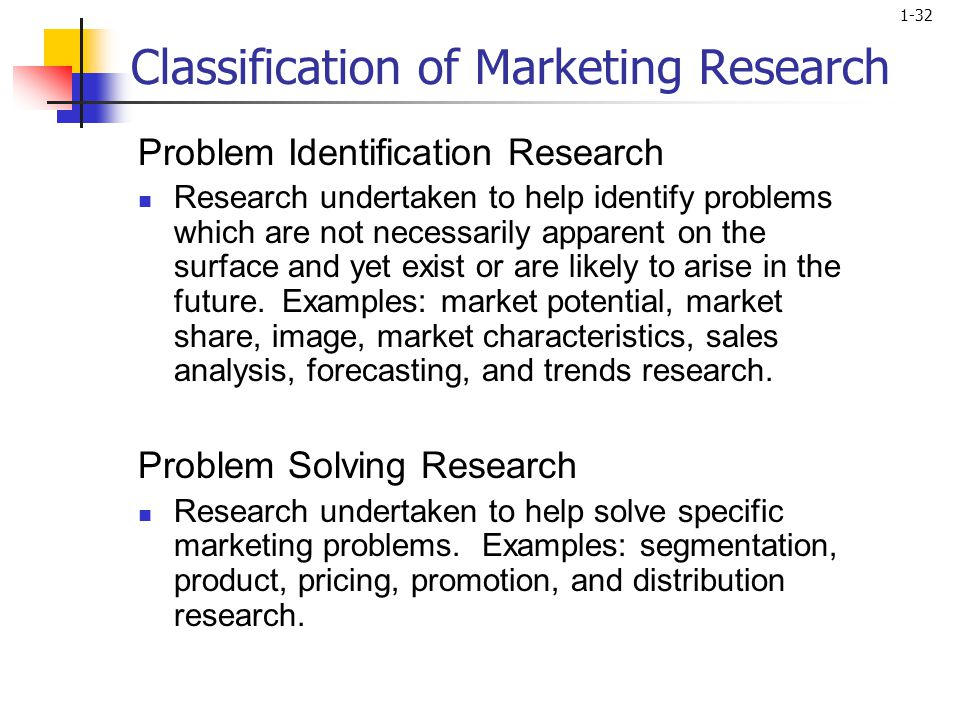 Marketing taxonomy essay