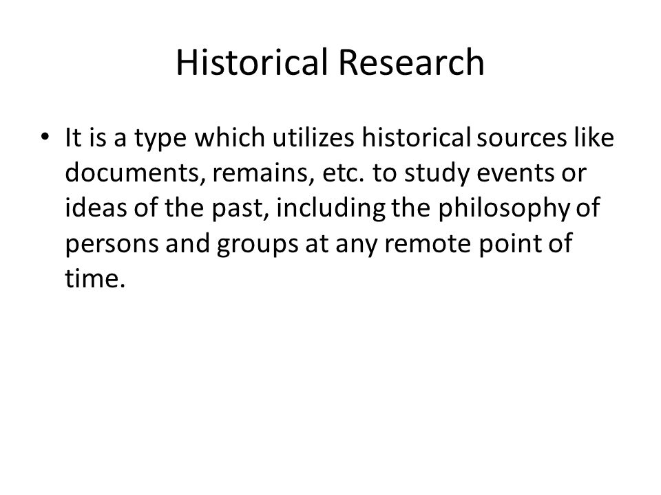 sources of historical research pdf
