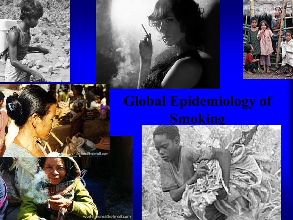 Global Epidemiology of Smoking