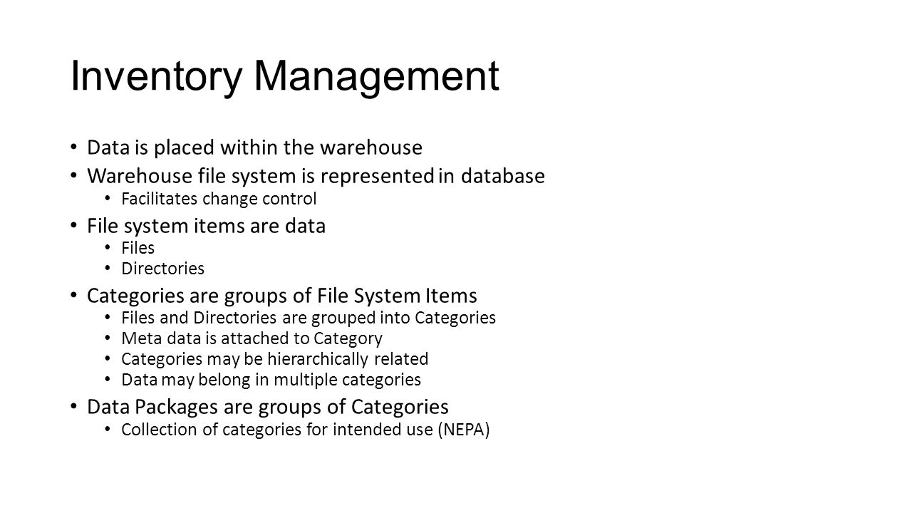 conclusions of inventory management project Student database management system  8 conclusions 35  project management skills are put to good use for this project.