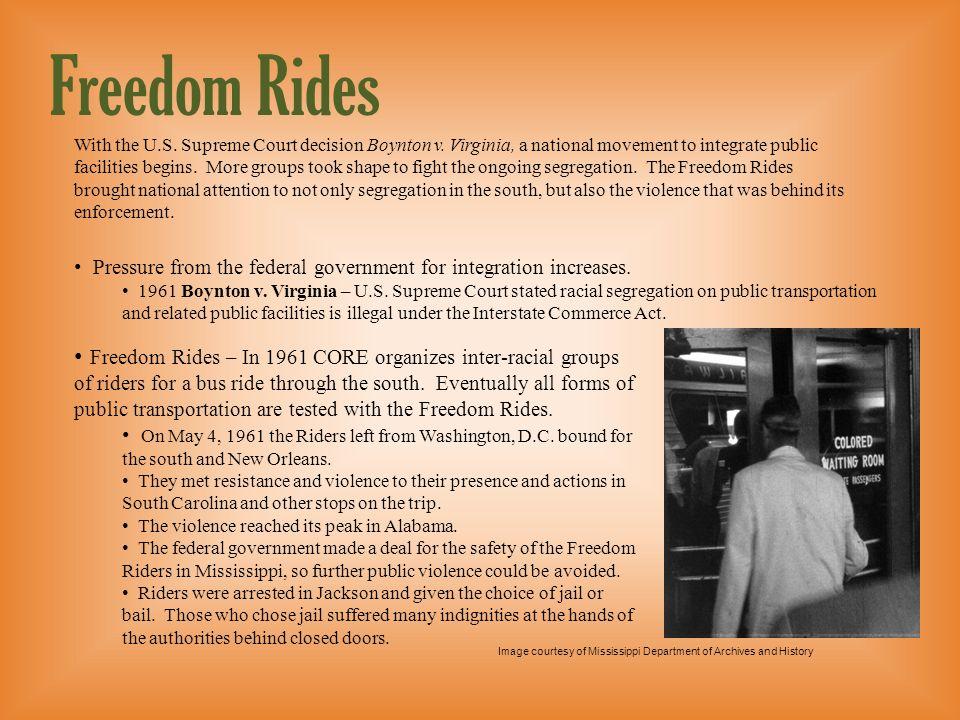 Level 2 presentation Freedom Rides.