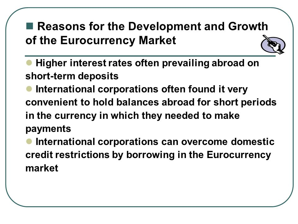 Theories of the growth of the euro-market: a review of the euro-currency deposit multiplier