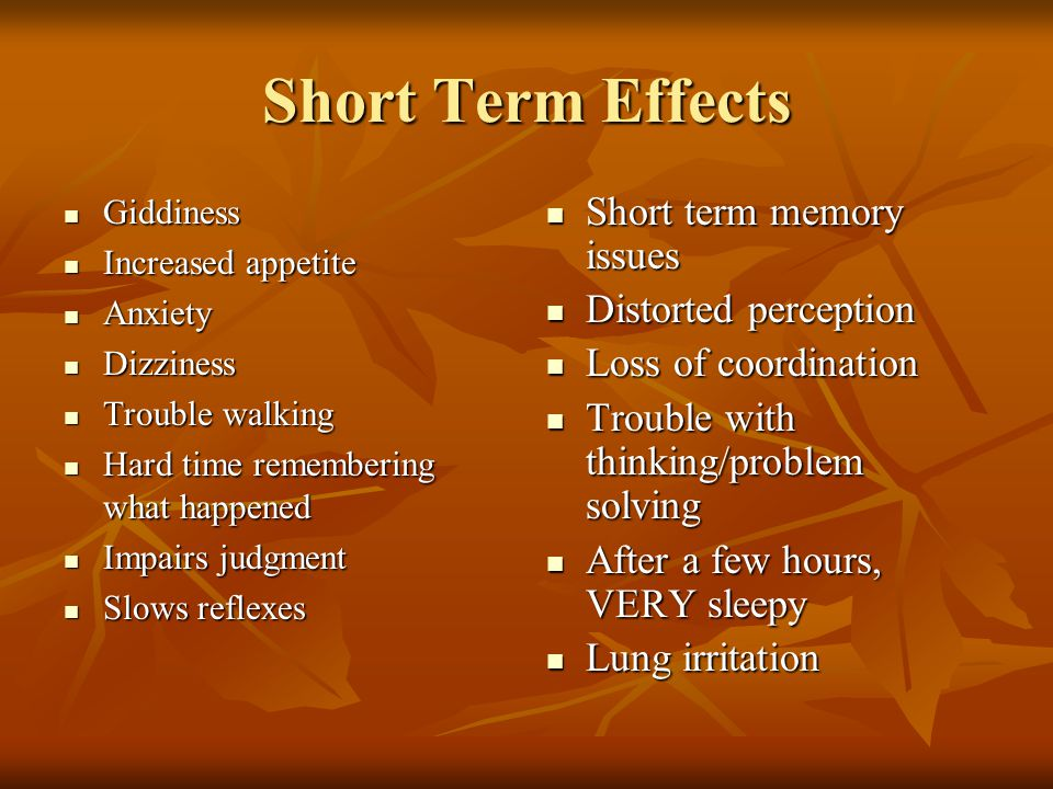 Short Term Memory Effect Of Excess