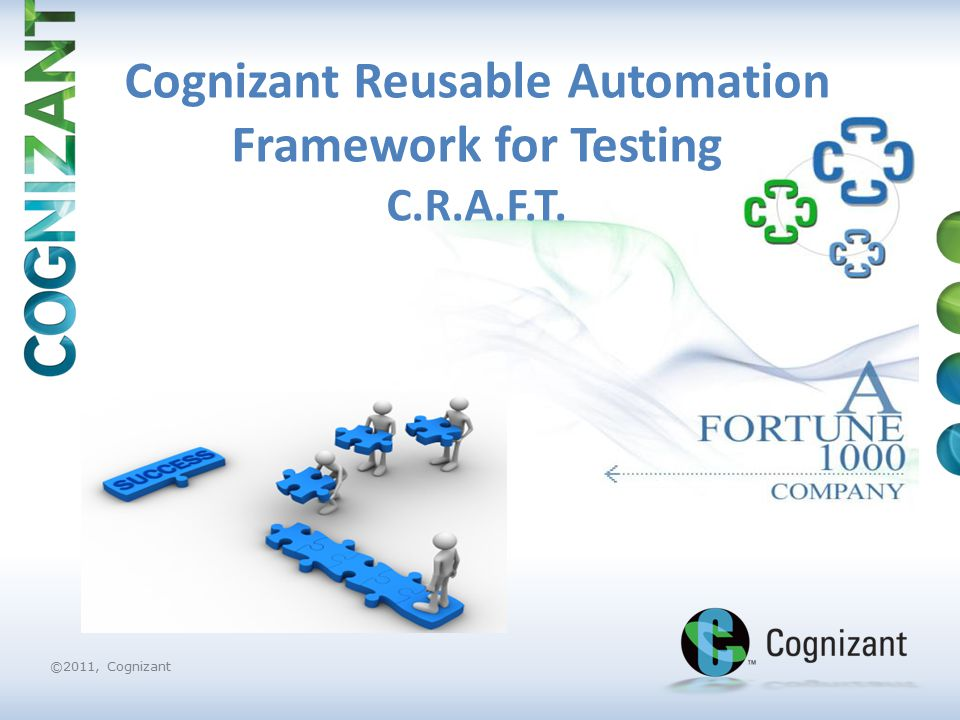 Cognizant Reusable Automation Framework for Testing C R A F T