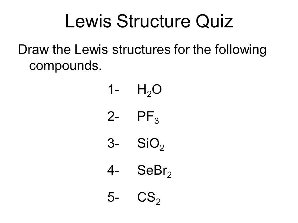 Cs2 Lewis Structure