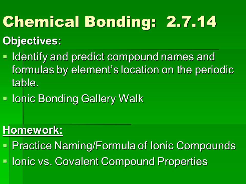 Homework help on chemical bonding