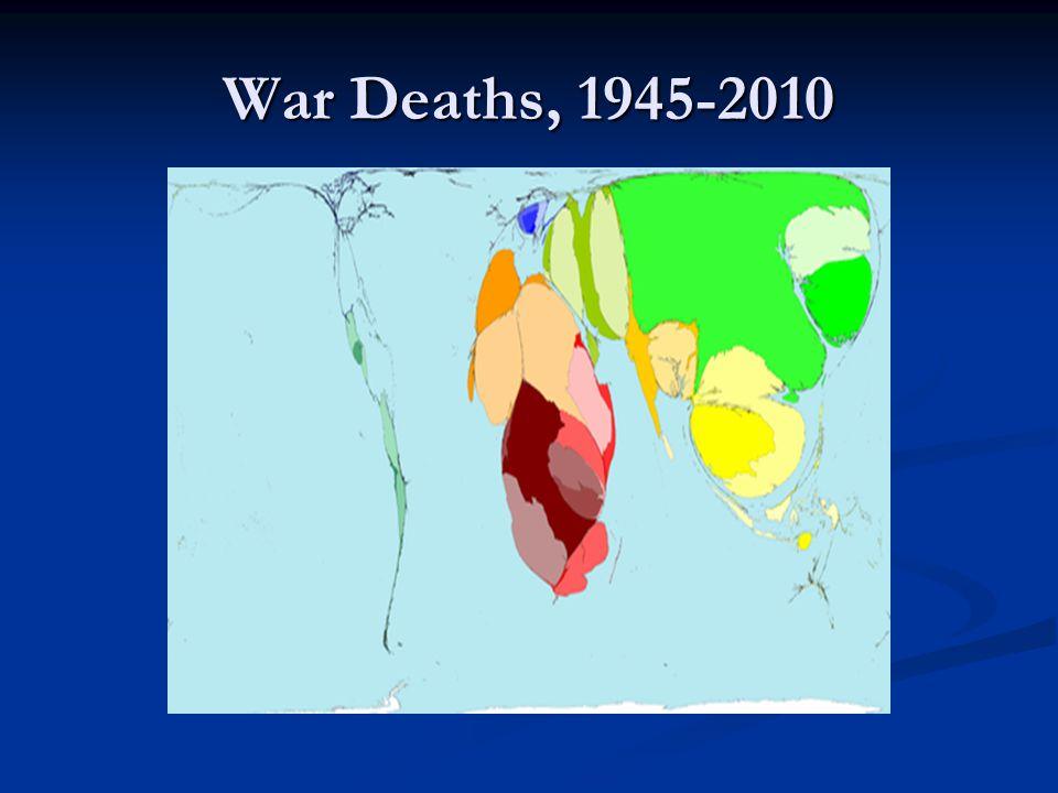 War Deaths, 1945-2010