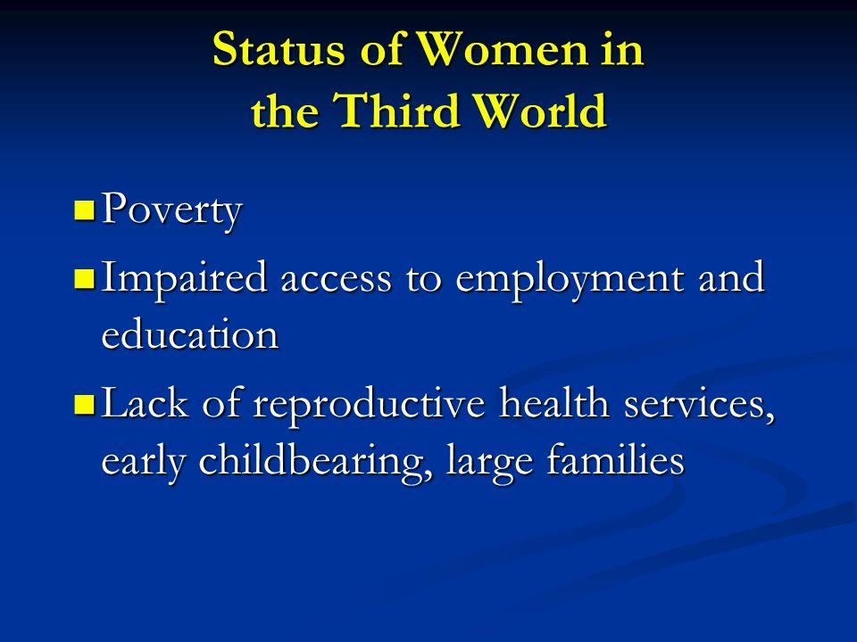 Status of Women in the Third World