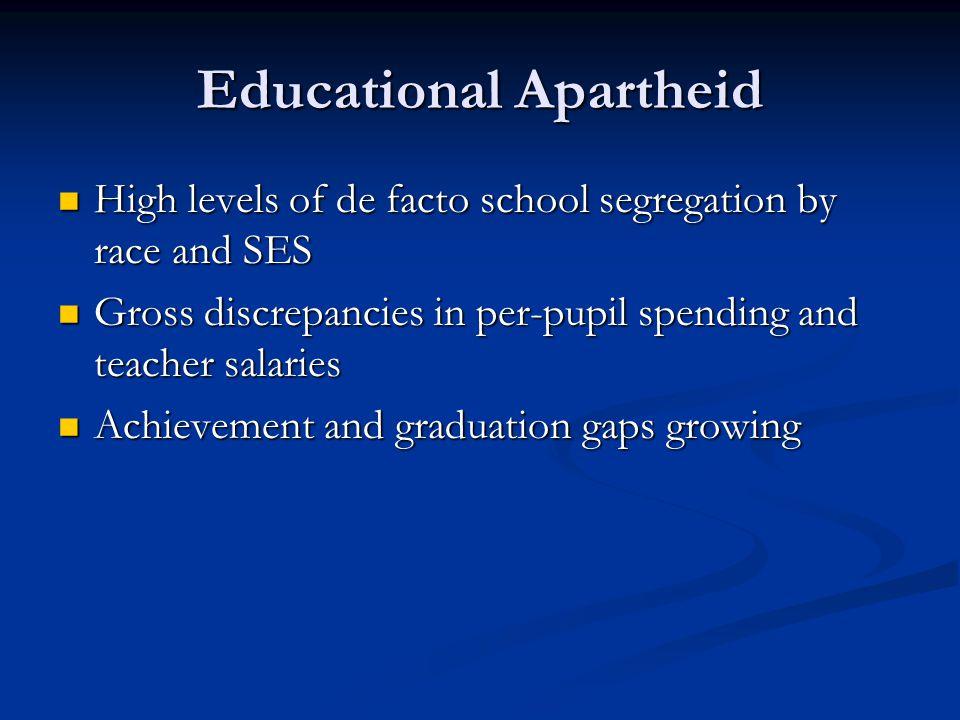 Educational Apartheid