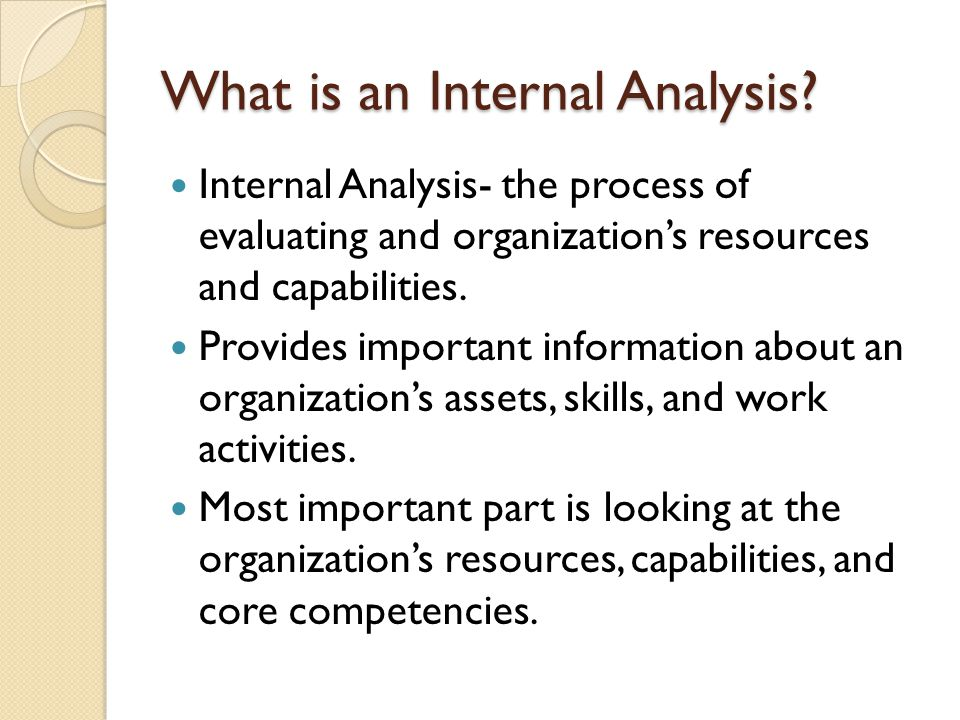 Internal resources and capabilities management essay