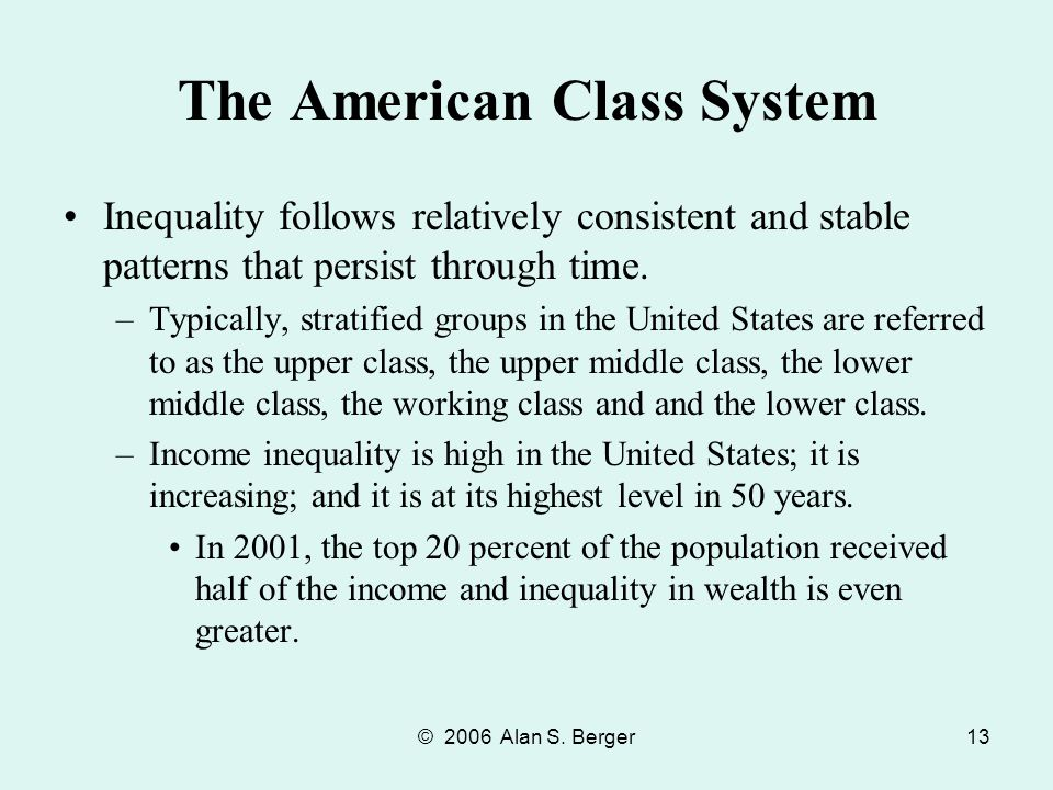 ethnocentric middle class and united states Socioeconomic status is just a way of describing the stratification system of the united states the class system, also imperfect in classifying all americans, nonetheless offers a general.